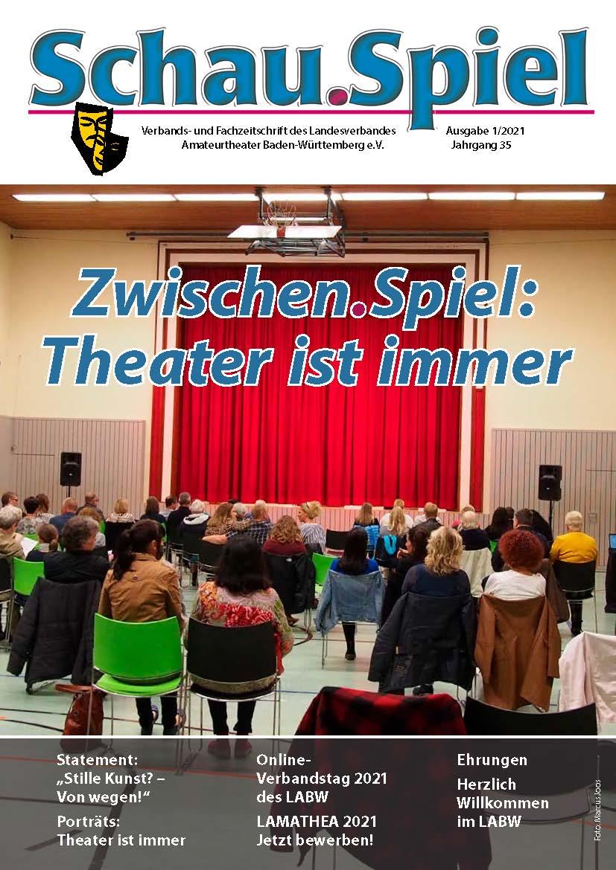 Cover Erste Ausgabe Verbandsmagazin 2021